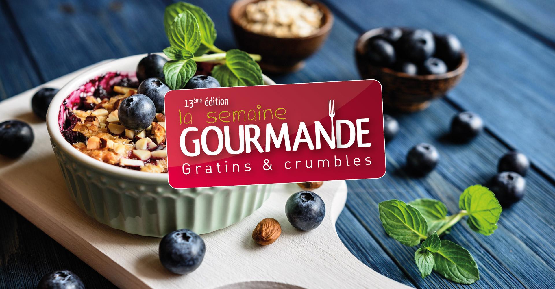 Campagne événementielle conçue pour la semaine gourmande en Haute-Loire par l'agence studio N°3