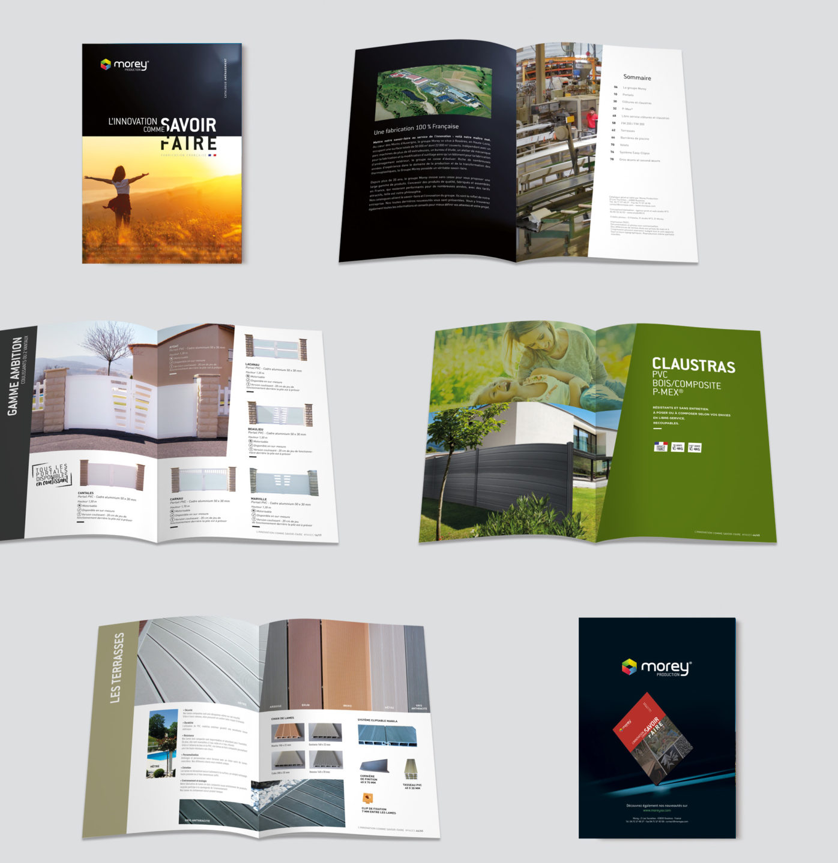 Catalogue général Morey créé par l'agence studio N3