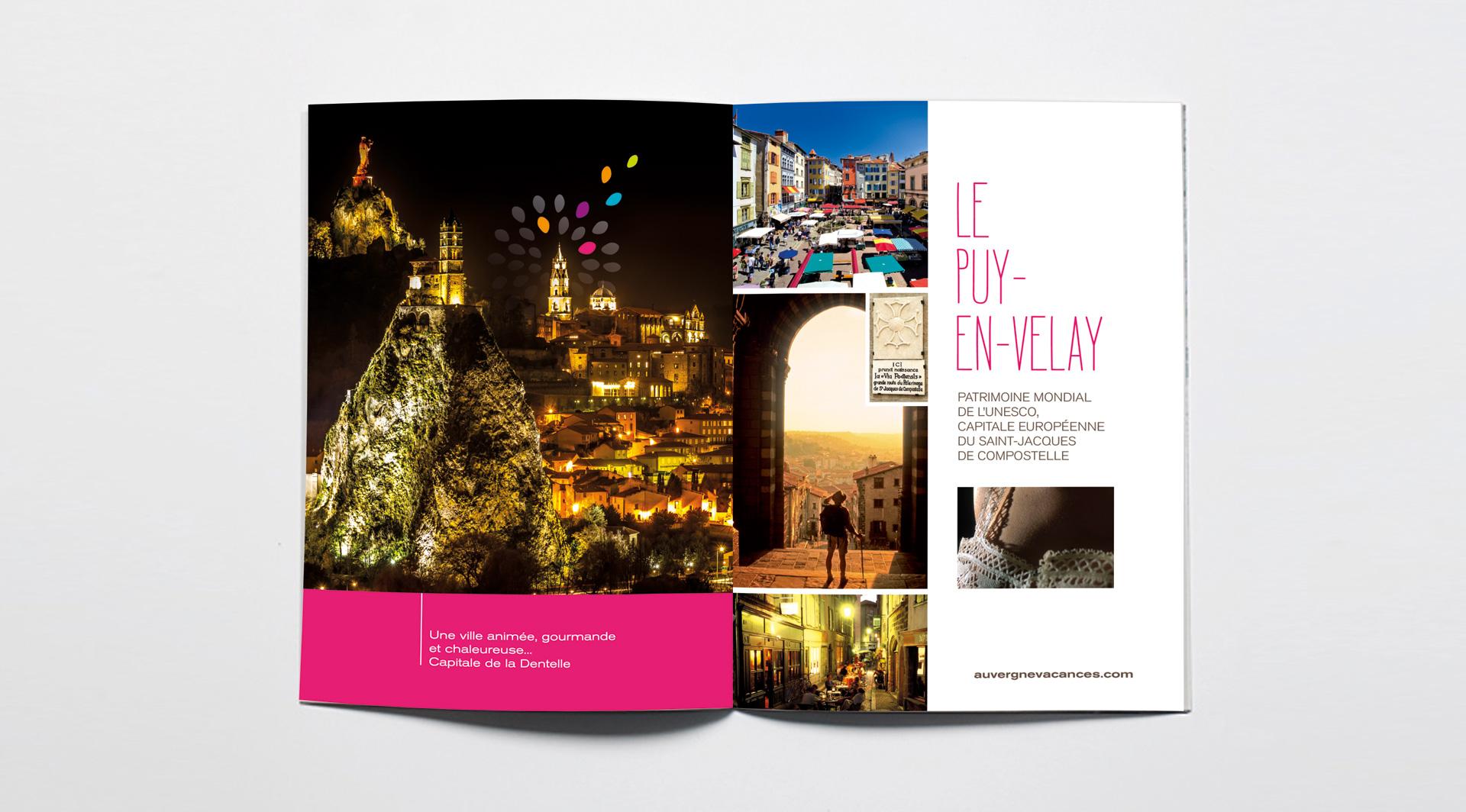 Création de brochure Le Puy-en-Velay