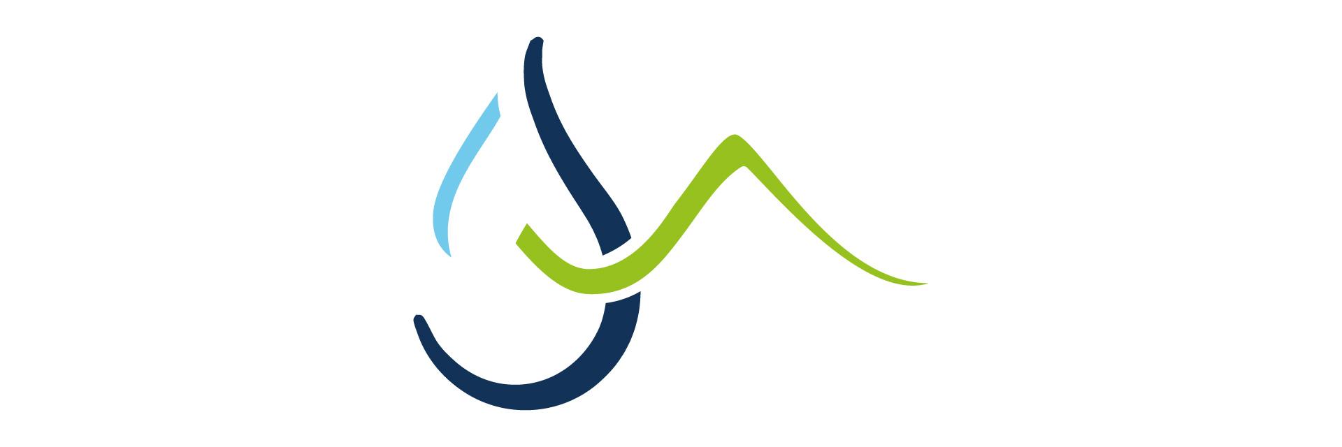 Logo des Sources du haut plateau créé par l'agence studio N°3