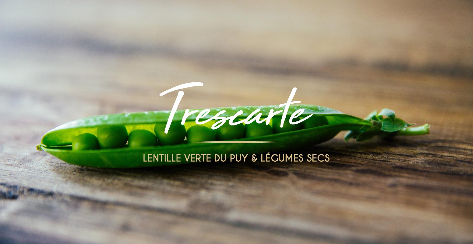 Création identité visuelle Trescarte créé par studio N°3