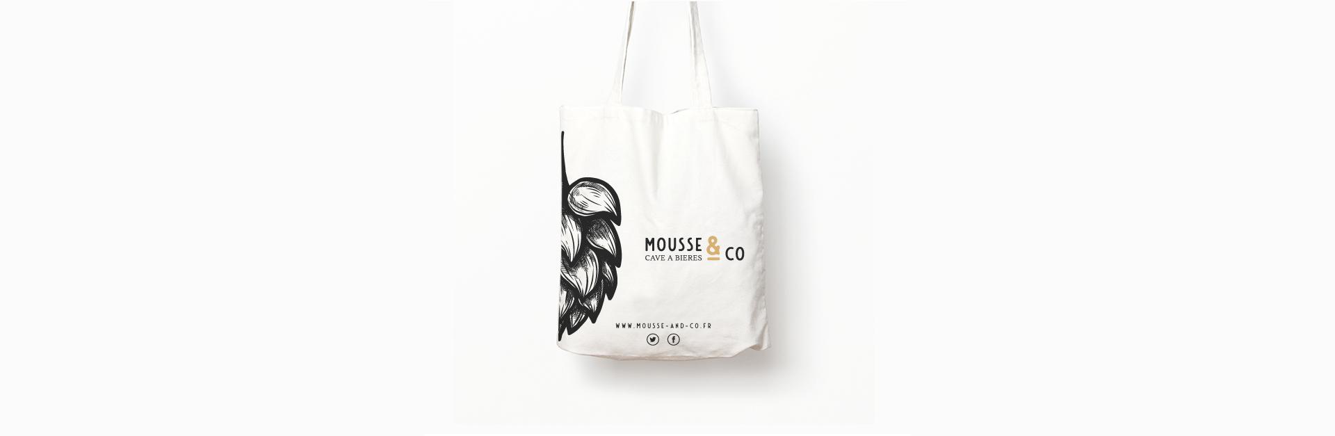 Objet de communication pour Mousse and Co imaginé par l'agence studio N°3