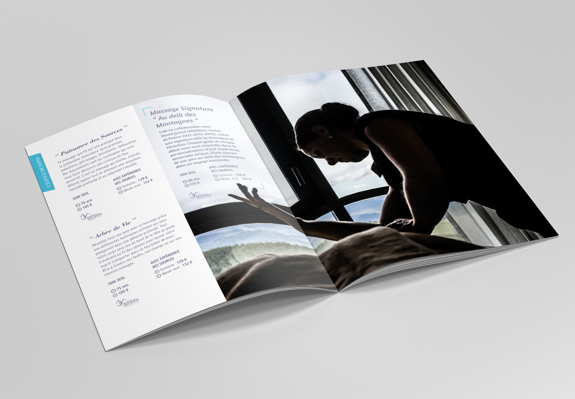Création de brochures en Haute-Loire par Studio N°3