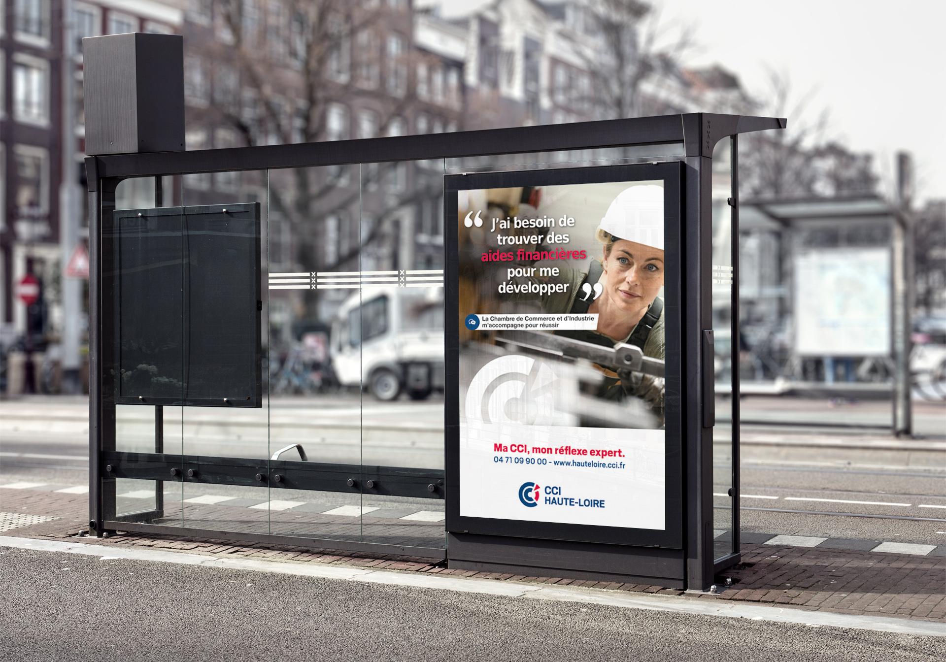 Création de la campagne de communication CCI par l'agence studio N°3