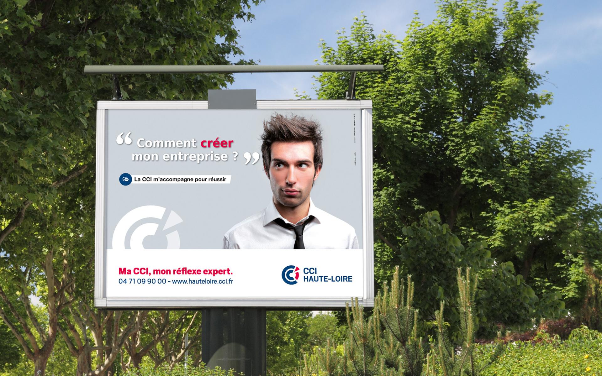 Campagne de communication CCI Haute-Loire