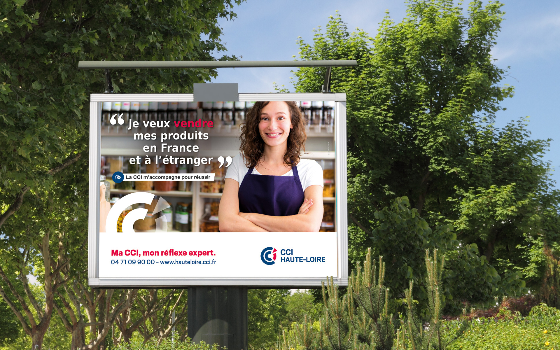 Conception de la campagne de communication CCI par l'agence de communication studio N3