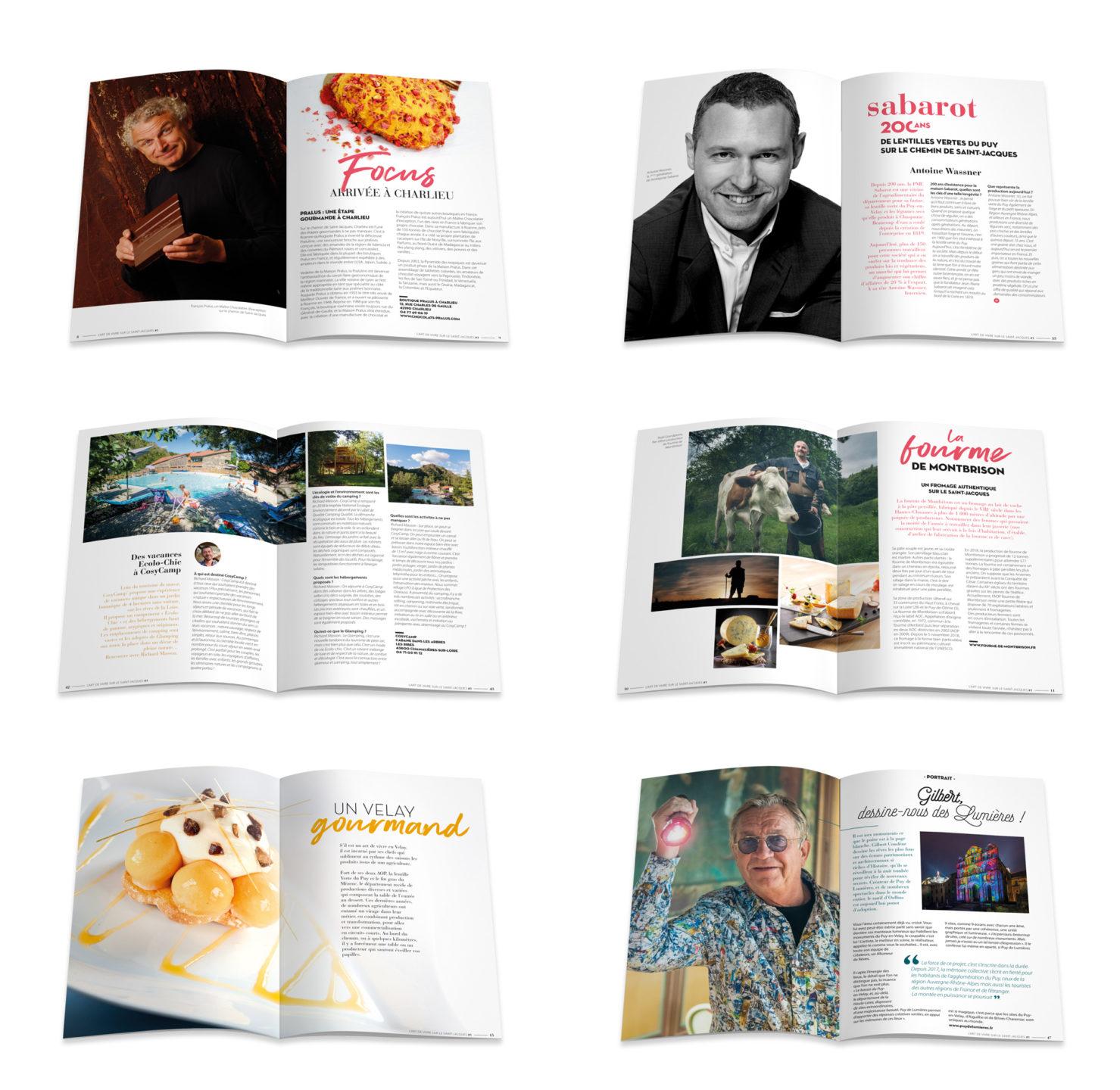 Studio N°3 imagine la création du magazine Haute-Loire en chemin