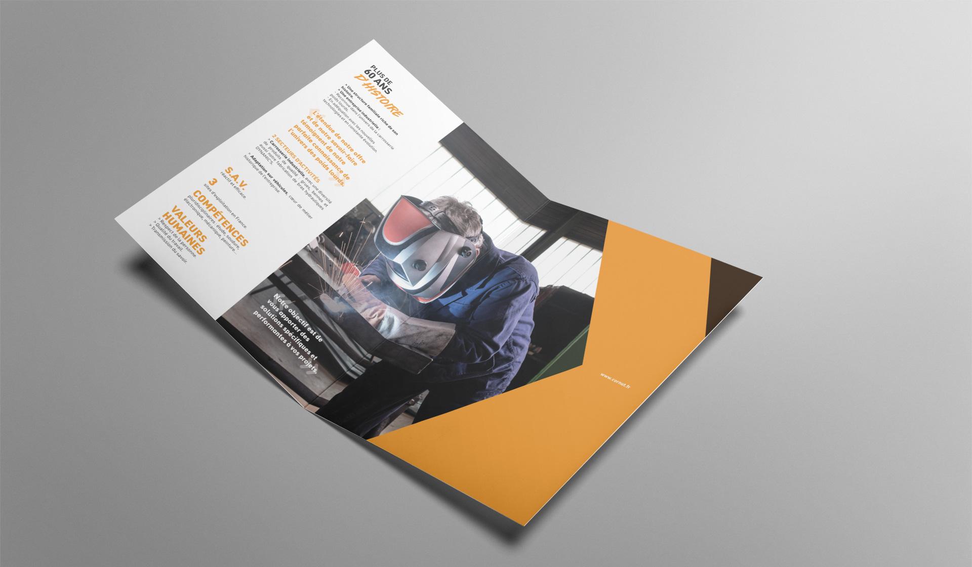 Design Creation Le Puy En Velay création de logo cornut - studio n°3, l'agence de communication