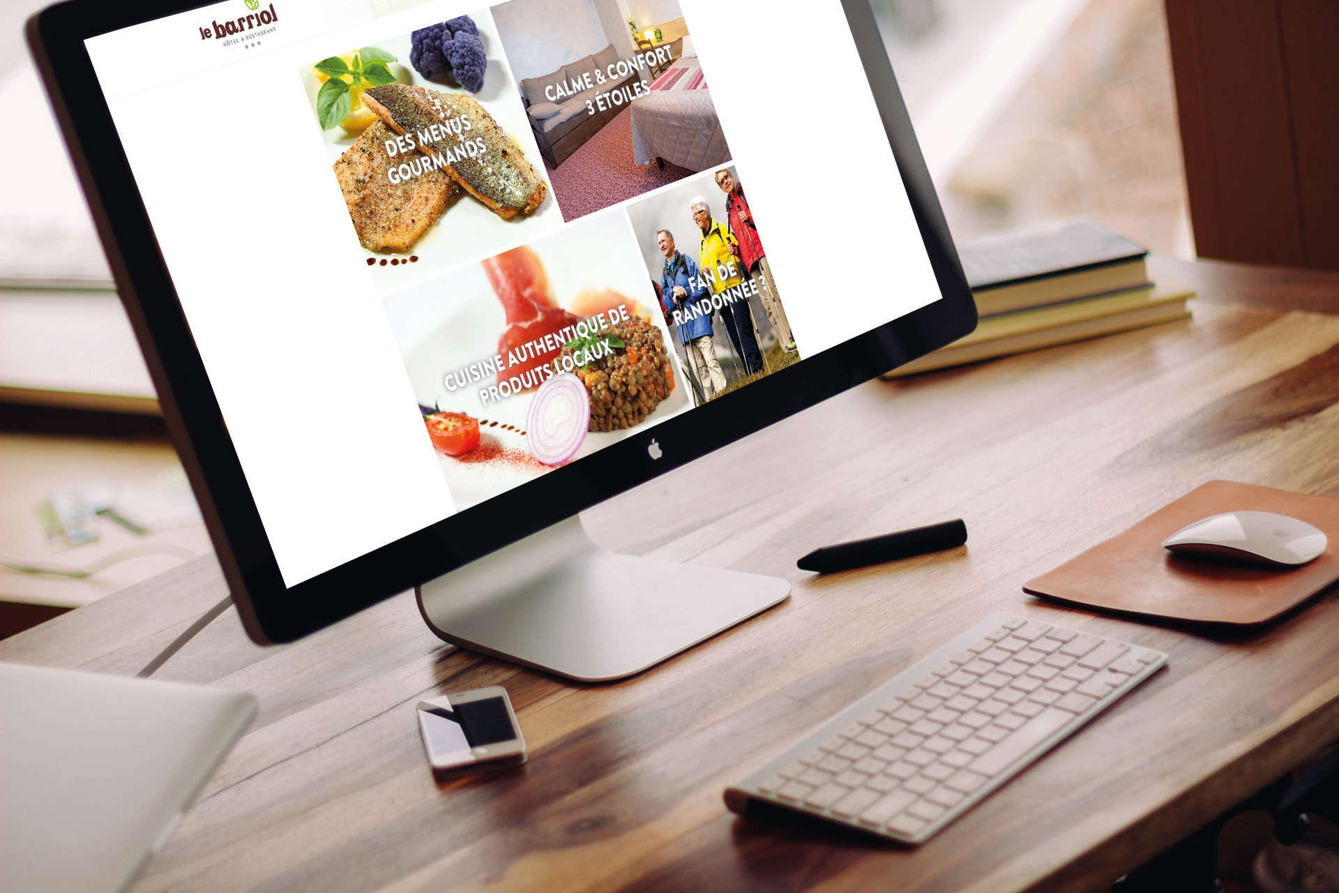 Site internet responsive design conçu par studio N°3